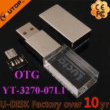 Lecteur flash USB en cristal personnalisé de téléphone cellulaire d'OTG (YT-3270-07L1)
