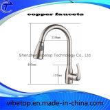 Faucet barato da cozinha do aço inoxidável da alta qualidade do preço (BF011)