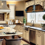 Casa de ferias Er-3303 pia de cozinha artesanal de aço inoxidável