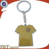 Do futebol relativo à promoção da cópia da novidade aço inoxidável Keychain (FTKC1850A)