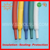 많은 125 다채로운 열 수축 배관