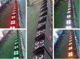 IGUALDAD teledirigida de la batería 4X15W LED del IRC DMX512 del teléfono celular