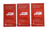 Etiquetas relativas à promoção do líquido de limpeza da tela do telefone móvel para a venda