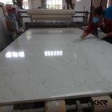 Pierre artificielle blanche nanoe de marbre de quartz pour le carrelage (Q1608307)