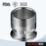 Adaptateur de pipe sanitaire de l'acier inoxydable 19wbf (JN-FL3003)