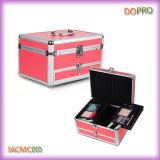 El Portable rosado compone el rectángulo cosmético de la belleza con el cajón (SACMC005)