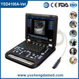 Ультразвук Ysd4100A-Vet цифров компьтер-книжки CE Approved ветеринарный