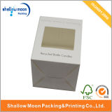 Handgemachtes Custom Candle Packaging Box mit Window (QYZ365)