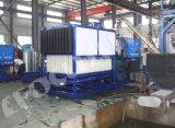 Grande planta industrial do fabricante do bloco de gelo