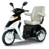 triciclo eléctrico de la rueda del freno de mano de la carga 150kg 500W tres