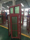 Finestra di legno di alluminio della stoffa per tendine di apertura esterna di buona qualità