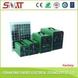 sistema de energia 10W solar portátil do inversor da potência com o controlador solar interno