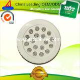 O diodo emissor de luz apontado fábrica da carcaça da união do forjamento parte o dissipador de calor da iluminação