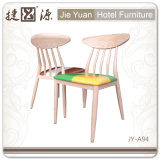 Restaurante do metal da cor da grão/cadeira de madeira modernos do café (JY-A94)
