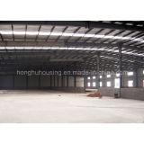 Colorare il magazzino prefabbricato d'acciaio della costruzione