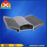O alumínio expulsou dissipador de calor do diodo emissor de luz do poder superior