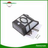 Indicatore luminoso ricaricabile di movimento del comitato solare PIR della lampada dell'indicatore luminoso della parete del sensore per le scala esterne del garage di via del giardino economizzarici d'energia