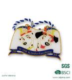 De Manier van de Markeringen van het Huisdier van het Metaal van de douane hangt de Markering van de Hond van de Gift van de Bevordering van de Markering
