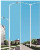 los 10m galvanizaron la calle poste ligero