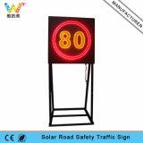 新しいデザイン制限速度のアルミニウム交通安全LEDの交通標識