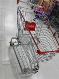 Вагонетка покупкы супермаркета высокого качества в европейском типе