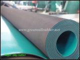 Составной противостатический резиновый лист, противостатический лист, составная противостатическая циновка