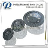 Hot Press Diamond Broyeur de pierre Outils de meulage