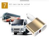 5V 2.1A는 보편적인 전화 충전기 USB 차 충전기 이중으로 한다