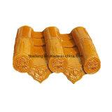 Azotea tradicional china de cerámica