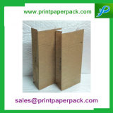 Paquete de papel para llevar de Kraft Brown