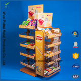 Vloer die het Rek van de Vertoning van Chips Ajustable (PHY1032F) bevinden zich