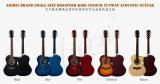 Guitarra acústica de cor de corpo de Cutway Lindenwood do tipo de Aiersi (SG026C-36)