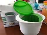 Ciotola/contenitore casalinghi del creatore del formaggio fresco della materia plastica del commestibile
