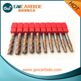 Flautas do moinho de extremidade 4 do carboneto
