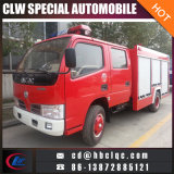 Hot Dongfeng 4000L Water Fire Truck Powder Fire Truck