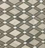 Nuevo mosaico de la piedra del mármol del diseño (VMM3S005)
