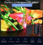 Più nuovo parete curva di HD P3.91 affitto dell'interno LED video con manutenzione anteriore