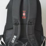 工場OEMの多機能のナイロンノートまたはコンピュータまたはバックパック袋、旅行ラップトップのバックパックをハイキングする黒く実用的な様式