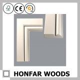 Воспламененный кожух окна твердой древесины для украшения дома или гостиницы