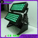 72X10W esterni impermeabilizzano l'indicatore luminoso di colore della città della rondella LED della parete