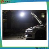 Indicatore luminoso telescopico di campeggio esterno della lega di alluminio LED