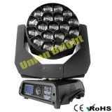 Luz principal movente do diodo emissor de luz 19X15W com zoom/foco RGBW 4 in-1