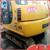 Mini Escavadeira Mini Komatsu com 0.3cbmbucket (modelo: PC60-7)