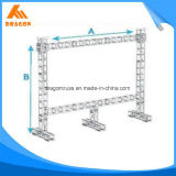 Braguero de aluminio de la espita de la pantalla de la alta calidad LED