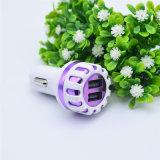 셀룰라 전화를 위한 1A 2.1A 2 포트 점화기 USB 차 충전기 접합기