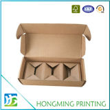 Brown-Pappteiler-Kerze-verpackenkästen