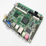 D525-3 schliff Bildschirmanzeige der Laptop-Motherboard-UnterstützungsVGA+Lvds ab, die unabhängige unterstützte Doppelbildschirmanzeige