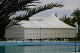 Большая партия Wedding шатры крыши высокого пика с настилами и стулами