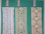 Nueva máquina del tejido del cordón del telar jacquar del hilo de algodón