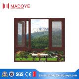 Het Thermische Openslaand raam van uitstekende kwaliteit van het Aluminium van de Onderbreking